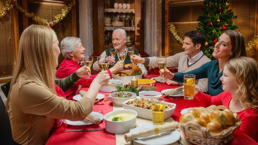 consejos para cenas de navidad con perdida auditiva- audiotechno - audifonos