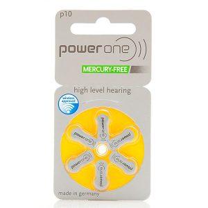 Pilas Para Audífono PowerOne 10