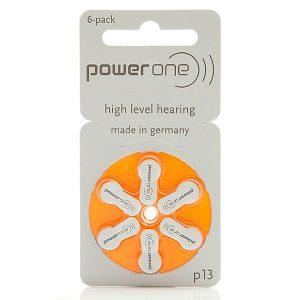 Pilas Audífonos Powerone 13